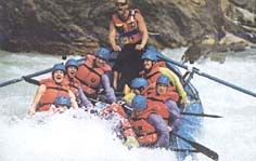 Exciting raft rides